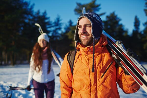 Cross Country Skiiing Image
