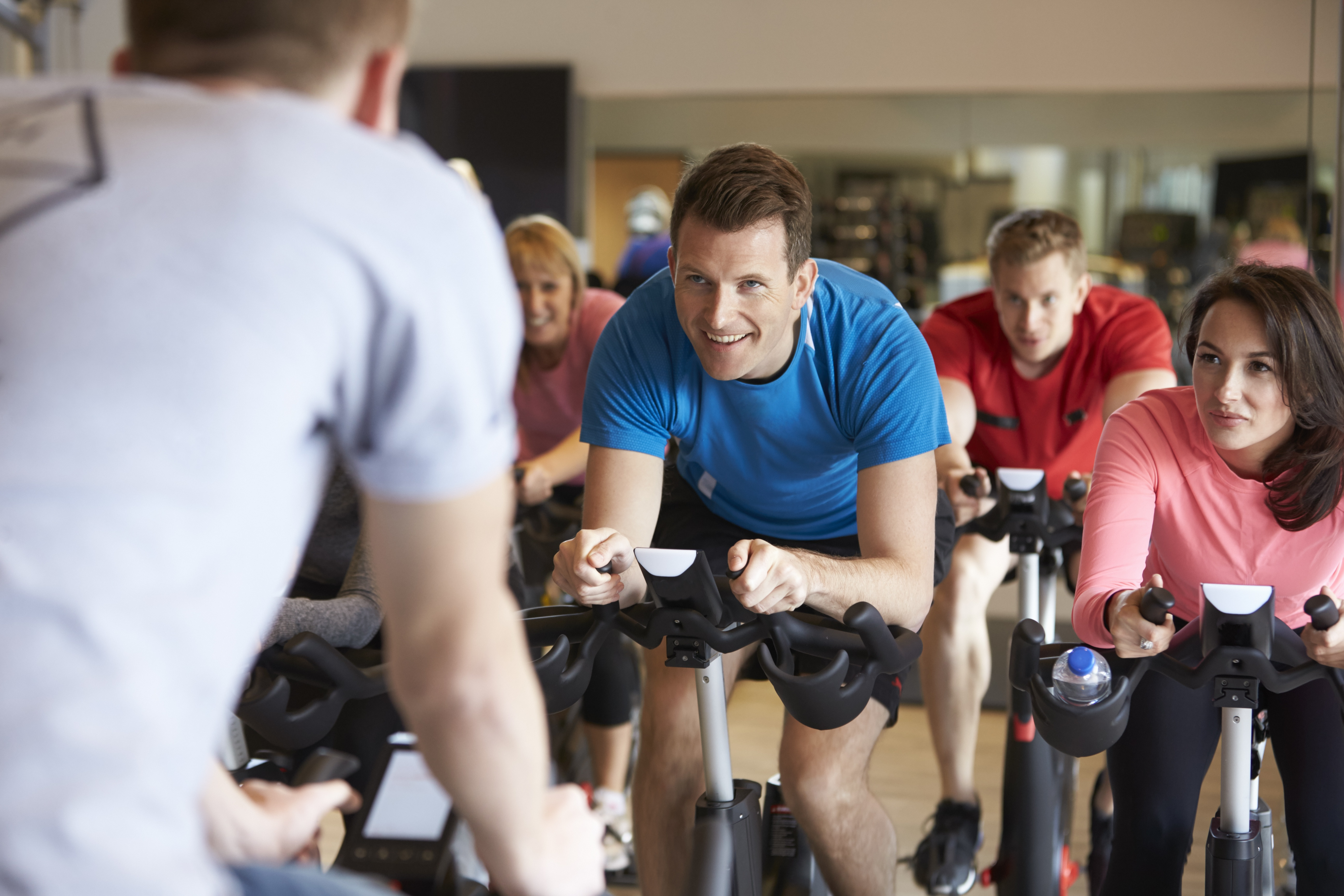 Cycle Class Group Fitness