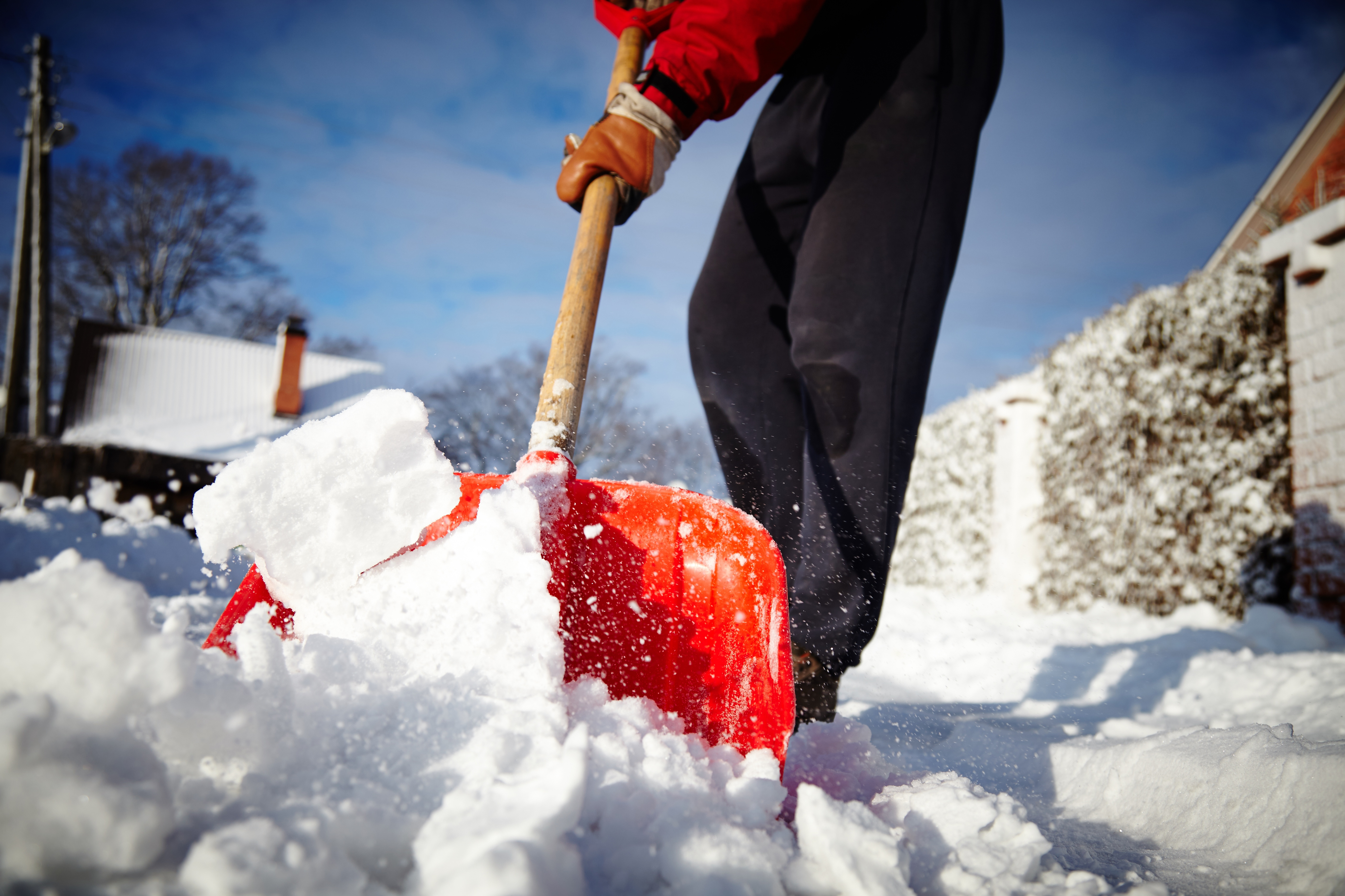 Shoveling Snow Image